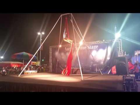 Hillary Moon Aerial Silks AZ State Fair