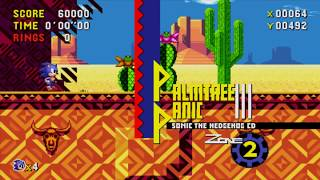 Adding Desert Dazzle (as R2) Back to Sonic CD!