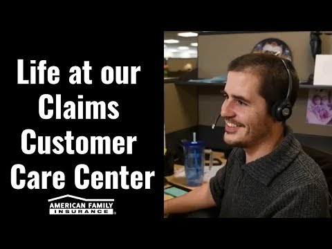 Life At Our Claims Customer Care Center | @AmFam®