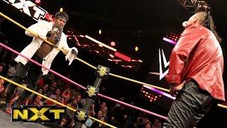 Shinsuke Nakamura wird von Patrick Clark unterbrochen: WWE NXT, 19. Oktober 2016