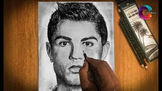 cristiano ronaldo portrait drawing
