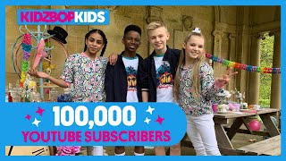 Thank You for 100,000 YouTube Subscribers! Top 5 Most Viewed KIDZ BOP Videos