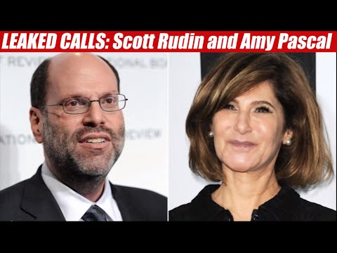 SONY HACK! Leaked Calls between Amy Pascal & Scott Rudin
