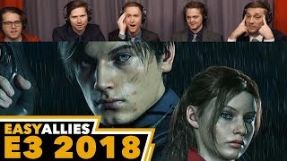 Resident Evil 2 (Trailer 2) - Easy Allies Reactions - E3 2018