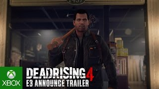 Dead Rising 4 E3 Announce Trailer(Dead Rising 4 E3 Announce Trailer - The ultimate zombie slayer returns in an all-new action packed thrill ride. Let the Slay Ride Begin in Dead Rising 4., 2016-06-13T17:32:57.000Z)