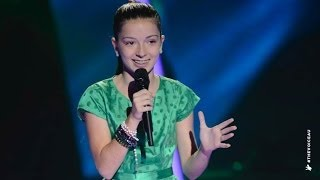 April Sings The Wizard And I | The Voice Kids Australia 2014