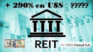 Posibilidad de Ganar +290% (U$S)INVERTI en ($) y GANA U$S – REIT❤NUEVO INSTRUMENTO️ - REAL ESTATE❤