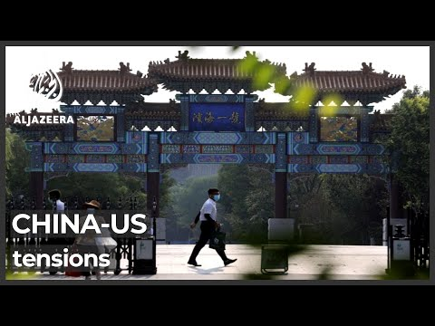 China blames US for fraught relations as talks begin