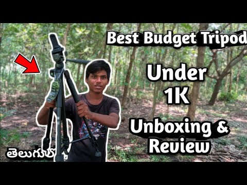 Best Budget Tripod Under 1k| Kodak T210 Unboxing| Kodak T210 Unboxing And Review Telugu|