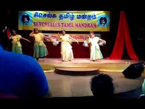 Seychelles Tamil Mandram Aadi festival 2017 AnithaKannan Group Dance
