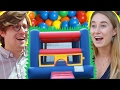 People Scared Of Bounce Houses Get Surprised With One