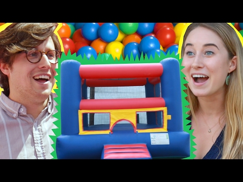 Thumbnail: People Scared Of Bounce Houses Get Surprised With One
