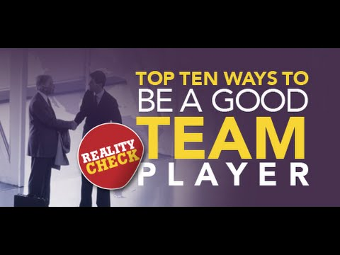 How to be a Good Team Player?