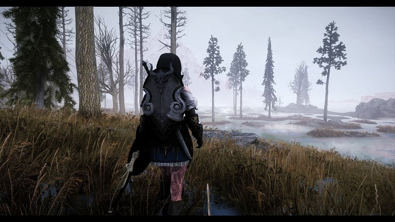 Skyrim Special Edition Ultra Graphics mod 2019 Gameplay