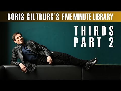 Five Minute Library: BORIS GILTBURG | THIRDS · PART 2