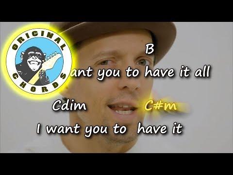 Jason Mraz - Have It All - Chords & Lyrics