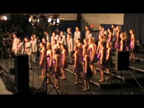 High Voltage Show Choir of Emmetsburg High School, Emmetsburg, Iowa Attends Contest at West Liberty