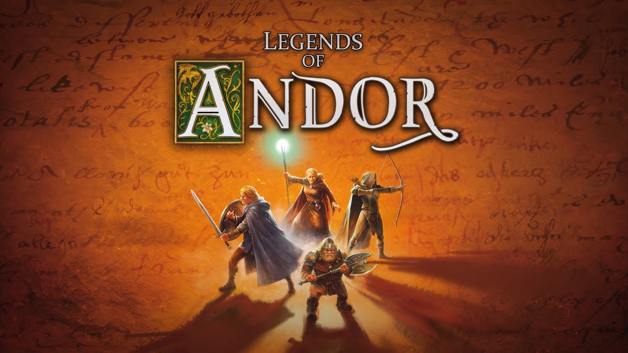 Legends Of Andor Board Game By Michael Menzel Youtube