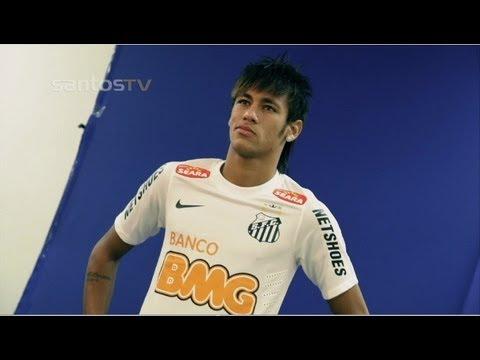 Bastidores - Sessão de fotos com os atletas do Santos FC