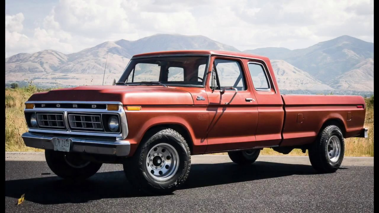 1977 Ford F250 Supercab, ORIGINAL UNRESTORED, COLD AC CAB ...