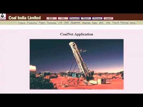 CoalNet - Coal India ltd.