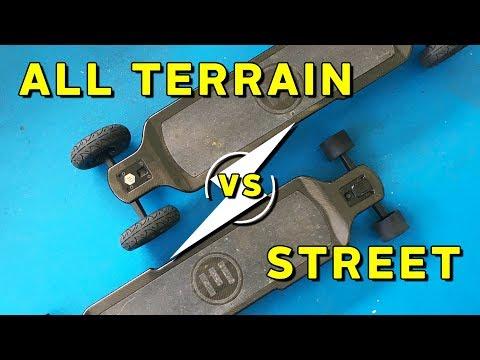 All Terrain vs Street Wheels - Evolve Skateboards Weekly Ep. 41