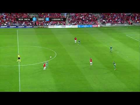 Hapoel Beer Sheva vs Ludogorets 2-0 GOALS - UEFA Champions League 2017/18 Qualification 3rd Round