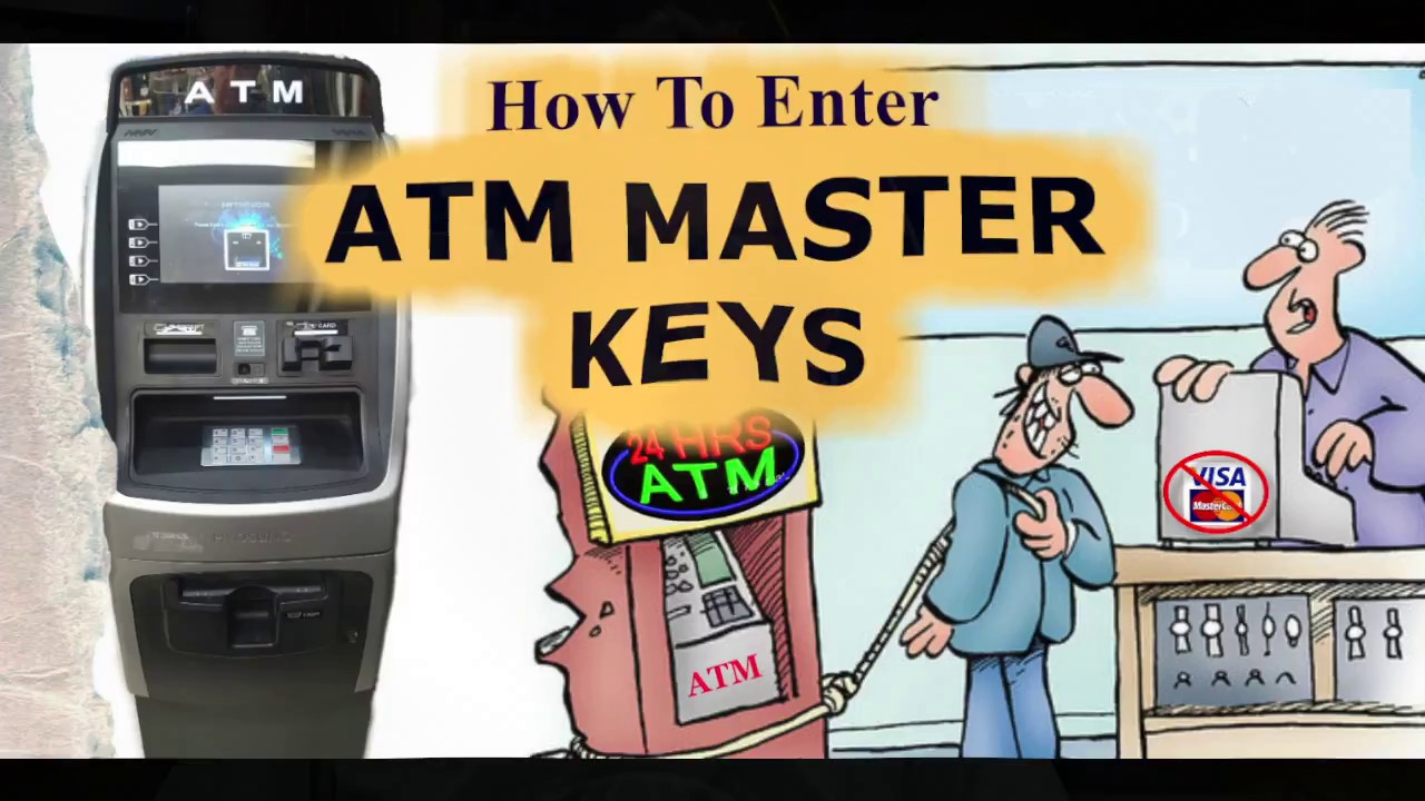 How to Enter Master Keys in to your ATM