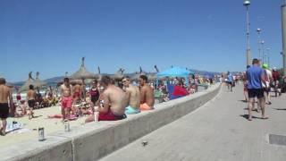 Urlaub Juni 2016: Playa de Palma - Erster Urlaubstag.