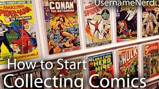 How to Start Collecting Comics