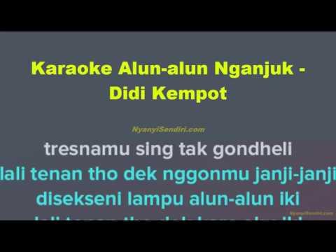 Karaoke Alun-alun Nganjuk - Didi Kempot Tanpa Vokal