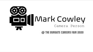Mark Cowley CameraPerson Career Vox Pop 1