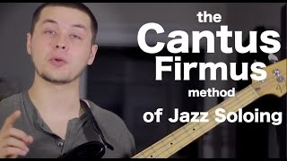cool jazz soloing technique the cantus firmus method ans bass lessons 20