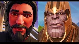 John Wick vs Thanos