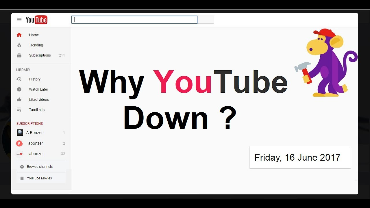 Why YouTube is Down ? - YouTube Site and App Not Working - YouTube