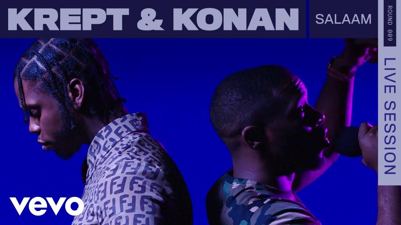 Krept & Konan - Salaam (Live / ROUNDS / Vevo)