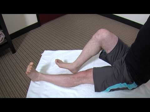 Calf Stretching & Strengthening Exercise Demonstration