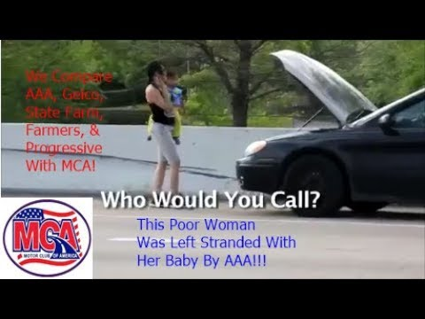 Roadside Assistance Plans   MCA Compared To AAA, Geico, State Farm, Farmers, and Progressive !!