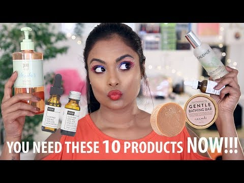 10 SKINCARE PRODUCTS YOU MUST HAVE RIGHT NOW!!!