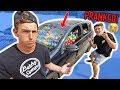 COREY FUNK FILLED MY CAR WITH 100,000 BALLS **PRANK**