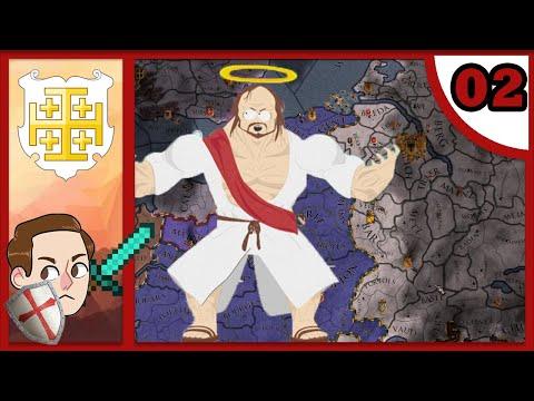 CK2: Holy Fury - Deus Vult #2 - Buff Jesus Giveth And Taketh