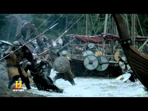 Vikings Season 3 Clips BATTLE WITH MERCIA 2