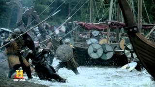 Vikings Season 3 Clips BATTLE WITH MERCIA 2