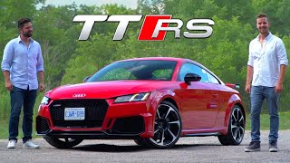 2019 Audi TT RS Review // The $80,000 Speed Demon