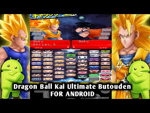 Dragon Ball Kai Ultimate Butouden For Android With Save Data