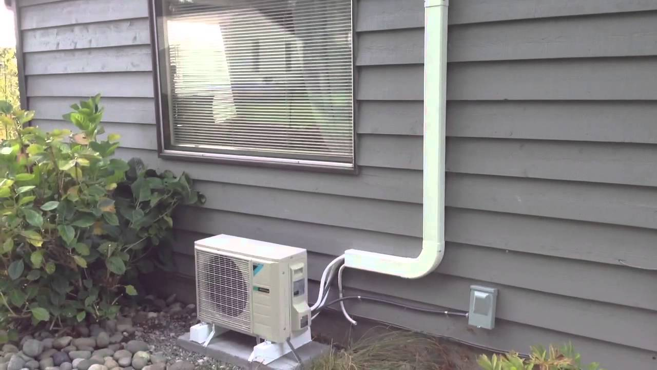 Daikin 12k L Series Ductless Heat Pump Youtube