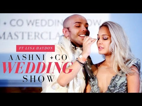 MY FIRST EVER WEDDING SHOW Ft LISA HAYDON