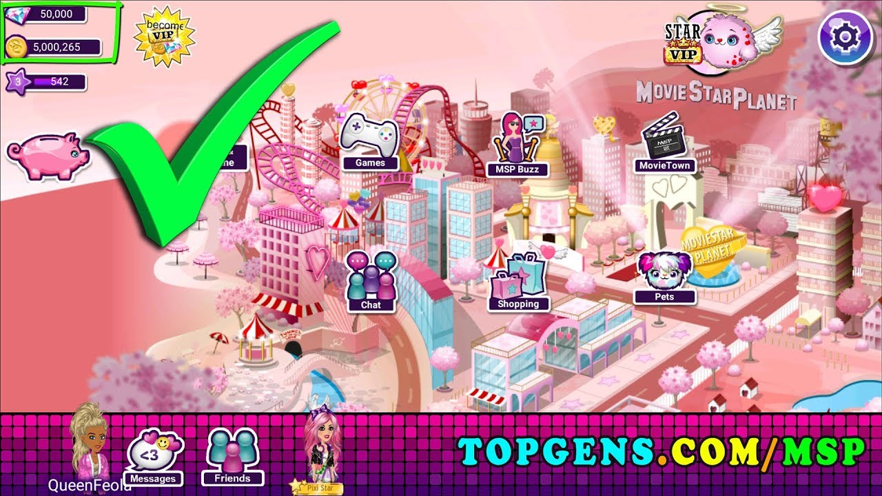MovieStarPlanet Hack 2019 - MSP Free Starcoins and Diamonds Hack