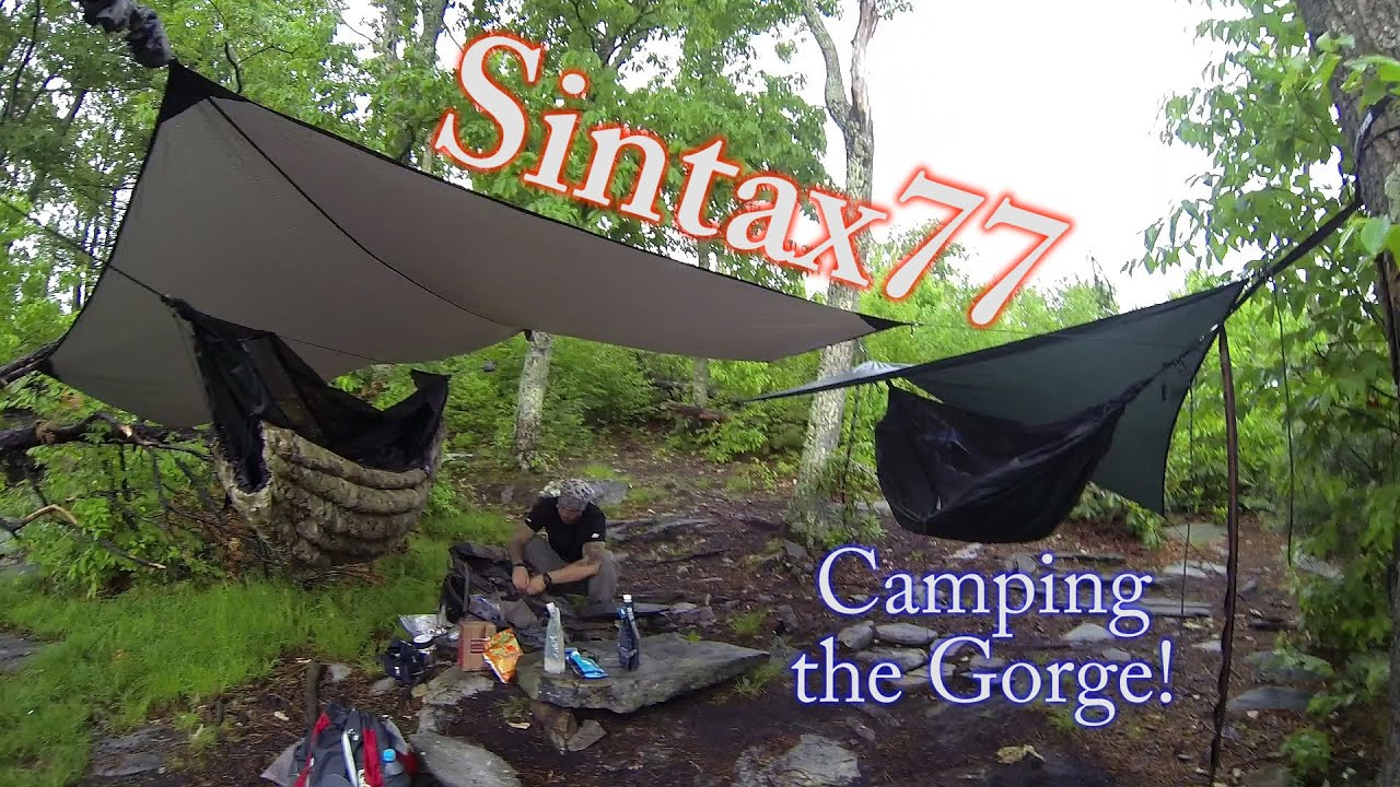 hammock camping the linville gorge   4 day backpacking trip   youtube  rh   youtube