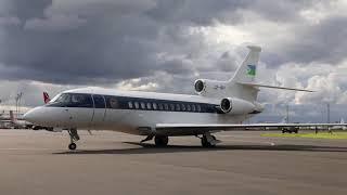 Djibouti President arrival at Jomo Kenyatta International Airport